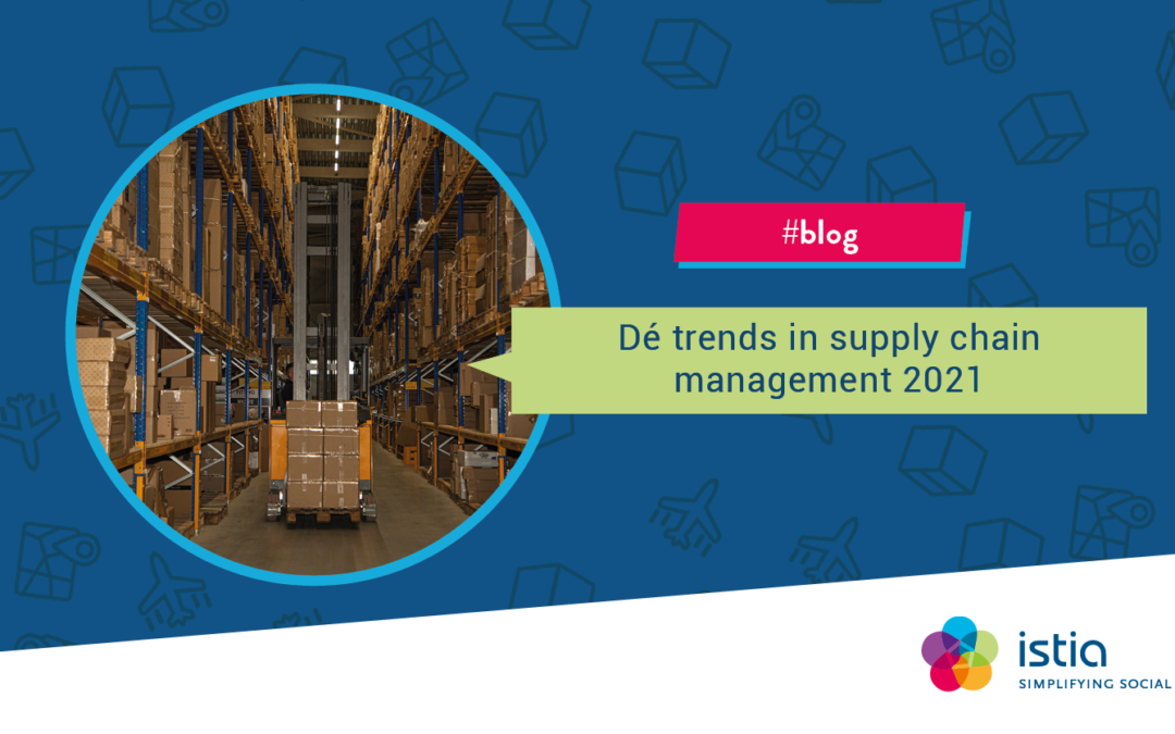 Drie trends van 2021 in supply chain management