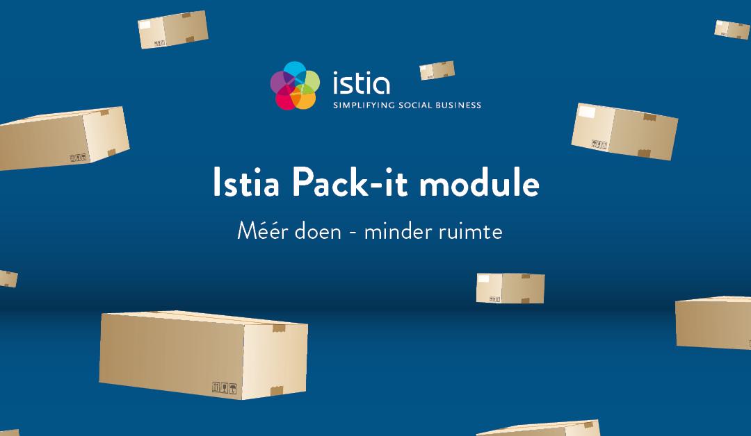 Optimaal en duurzamer verpakken met pack-it